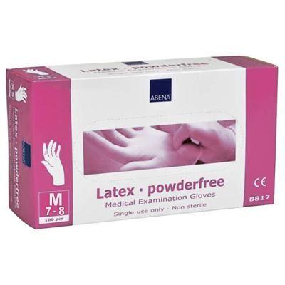 Профессиональный Перчатки нитриловые неопудренные Abena (M), розовый купить в Харькове