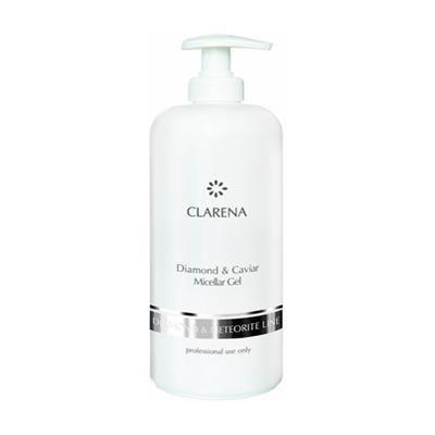 Качественный Мицеллярный гель с алмазной пылью, икрой и комплексом Revitalin®-BT - Clarena Diamond & Caviar Micellar Gel, 500ml рекомендации