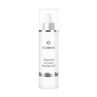 Качественный Мицеллярный гель с алмазной пылью, икрой и комплексом Revitalin®-BT - Clarena Diamond & Caviar Micellar Gel, 200ml рекомендации