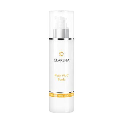 Косметологический Тоник с чистым витамином С для сосудистой, серой, уставшей кожи - Clarena Pure Vit C Tonic, 200ml магазин Numb Market