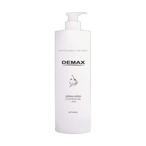 Косметологический Очищающий гель для комбинированной кожи с АНА - Demax Purifiers and Tonics Derma-Norm Cleansing Gel + AHA, 500ml магазин Numb Market