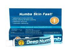 Deep Numb (Blue), Крем - анестетик, 10g