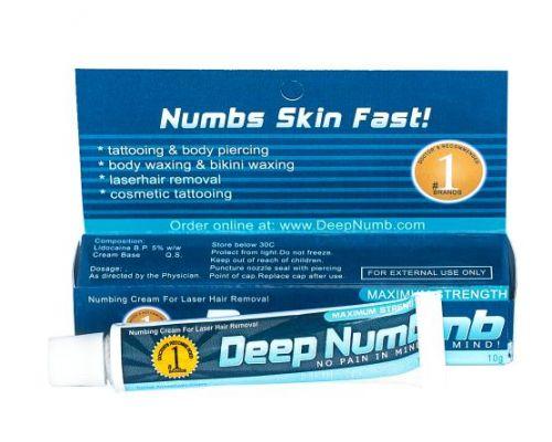 Хороший Deep Numb (Blue), Крем - анестетик, 10g заказать