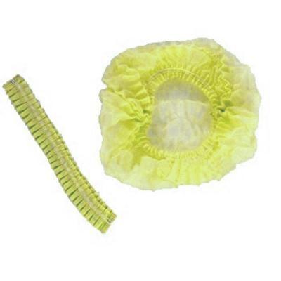 Косметологический Шапочка одноразовая, «Гармошка» 100 шт, желтый магазин Numb Market