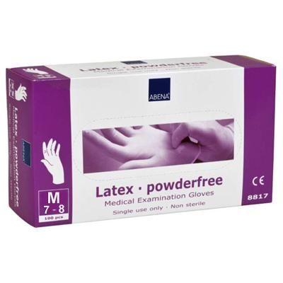 Результативный Перчатки нитриловые неопудренные Abena (M), лиловый заказать в интернет магазине