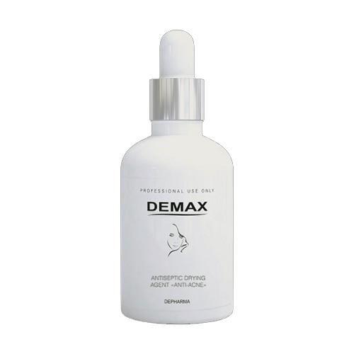 """Быстродействующий Антисептическая присушка """"Анти-акне"""" - Demax Antiseptic Drying Agent, 50ml с доставкой"""
