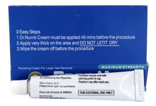 Качественный Deep Numb (Blue), Крем - анестетик, 10g рекомендации