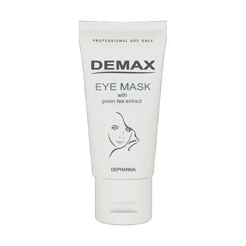 Хороший Маска от отеков и темных кругов для орбитальной зоны с экстрактом зеленого чая - Demax Eye Mask With Green Tea Extract, 50ml заказать