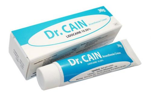 Результативный Dr.Cain, Крем - анестетик, 30g заказать в интернет магазине