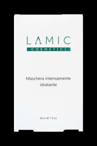 """Косметологический Интенсивно увлажняющая маска """"Maschera intensamente idratante Lamic cosmetici"""" набор из 3 масок магазин Numb Market"""