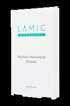 """Интенсивно увлажняющая маска """"Maschera intensamente idratante Lamic cosmetici"""" набор из 3 масок"""