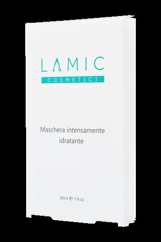 """Профессиональный Интенсивно увлажняющая маска """"Lamic Maschera intensamente idratante"""" набор из 3 масок купить в Харькове"""