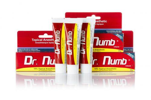 Быстродействующий Dr.Numb (Epinephrine), Крем - анестетик, 30g с доставкой