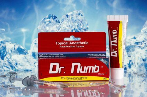 Фирменный Dr.Numb (Epinephrine), Крем - анестетик, 30g приобрести в Харькове