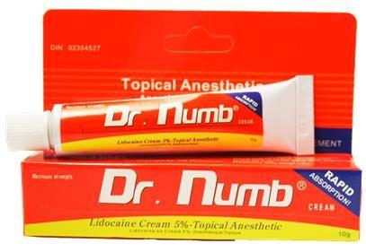 Результативный Dr.Numb (yellow), Крем - анестетик, 10g заказать в интернет магазине
