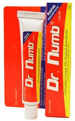 Качественный Dr.Numb (yellow), Крем - анестетик, 10g рекомендации