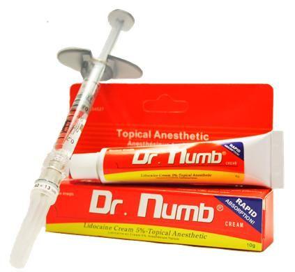 Отличный Dr.Numb (yellow), Крем - анестетик, 10g купить в Украине