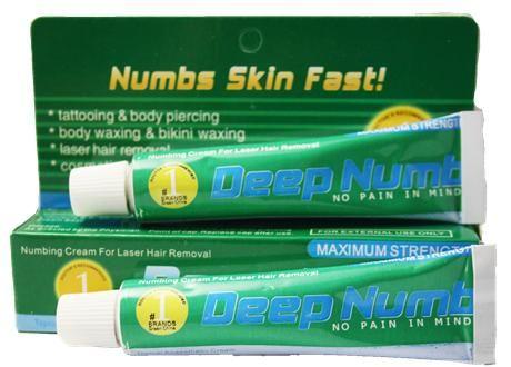 Быстродействующий Deep Numb (Green), Крем - анестетик, 10g с доставкой