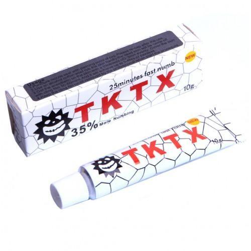 Оригинальный TKTX 35% (White), Крем - анестетик, 10g заказать в Харькове