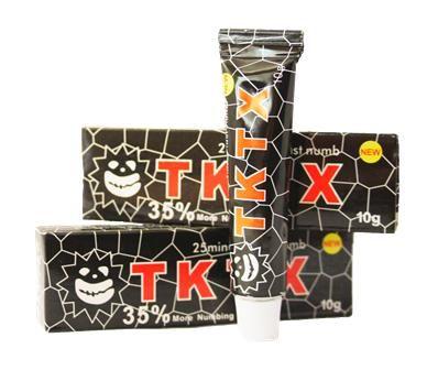 Профессиональный TKTX 35% (Black), Крем - анестетик, 10g купить в Харькове